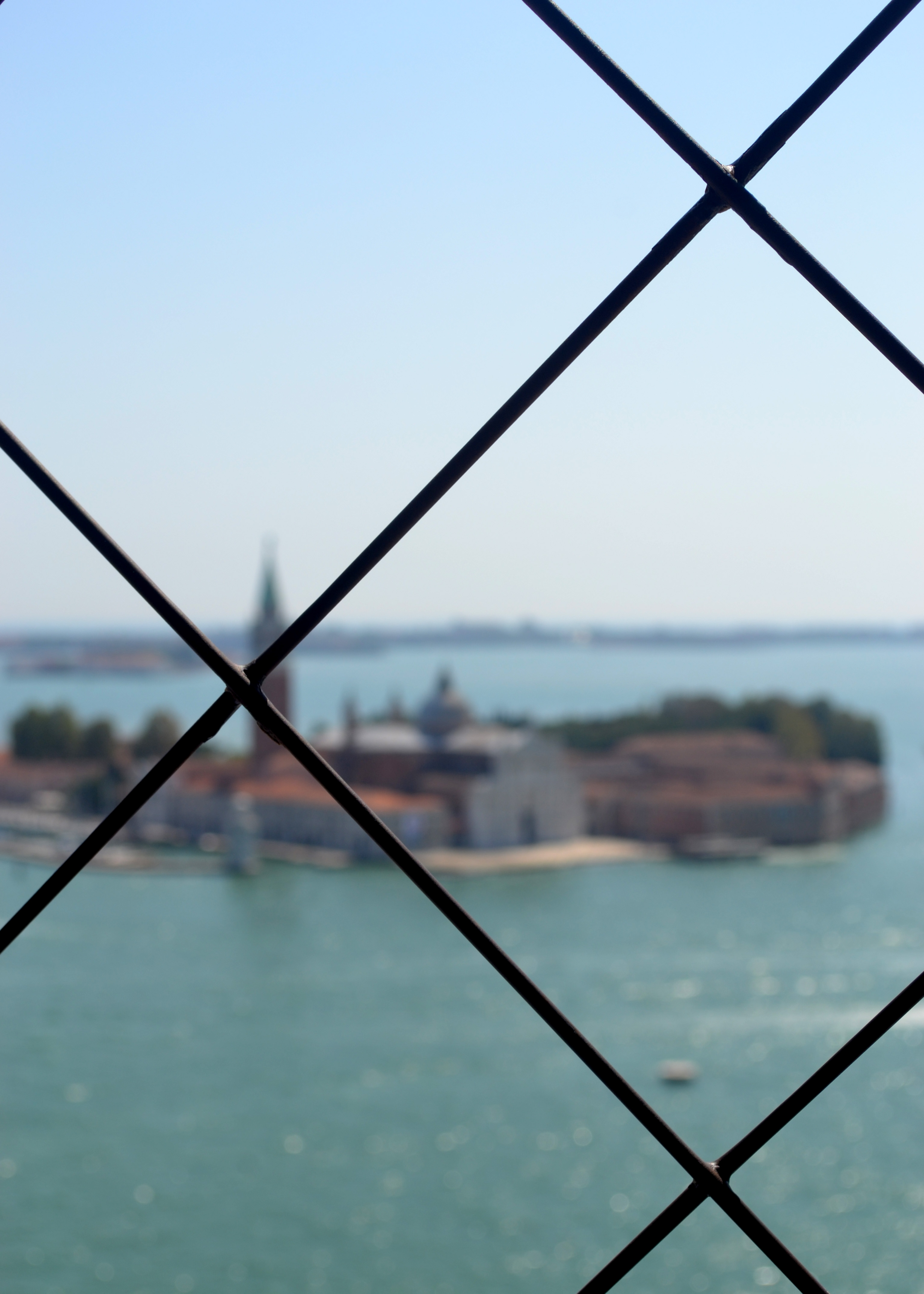 View from the Clock Tower in St Marks Square, Venice