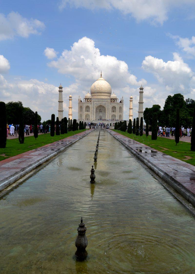 The Taj & it's beautiful surroundings