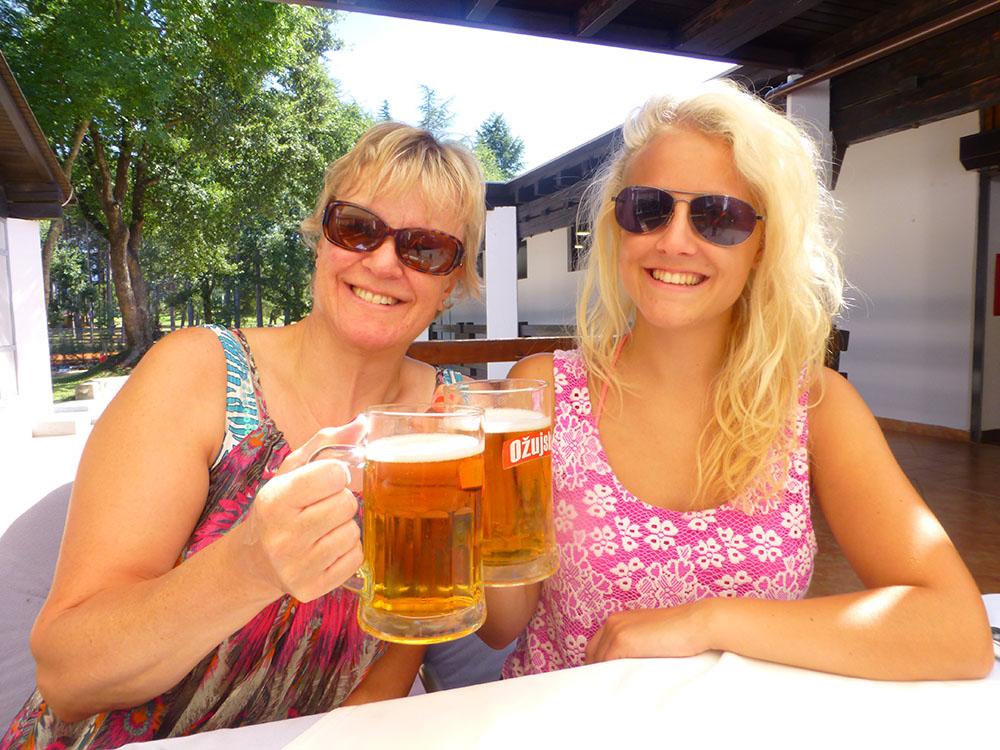 me & mum