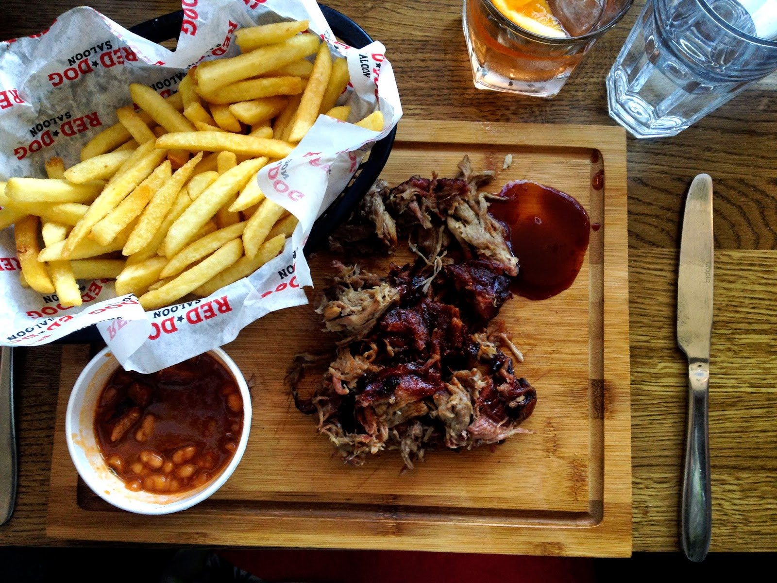 Red Dog South, food in south west London
