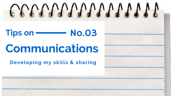 Communication Tips 3 Title Image