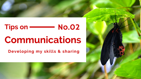 Communications Tips 2, Banner image