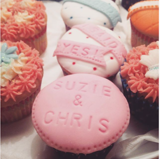 Engagement Cup Cakes