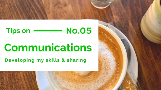 Communication tips number 5 banner