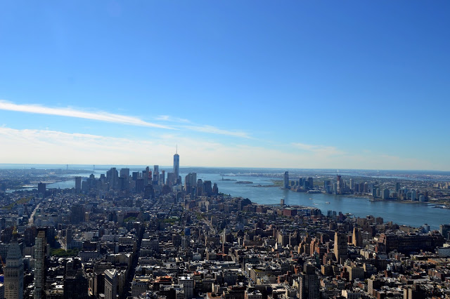View of Manhattan from the top of the Empire State Building