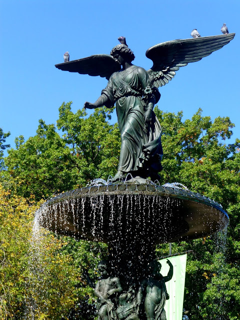 Bethesda Fountain - the heart of Central Park