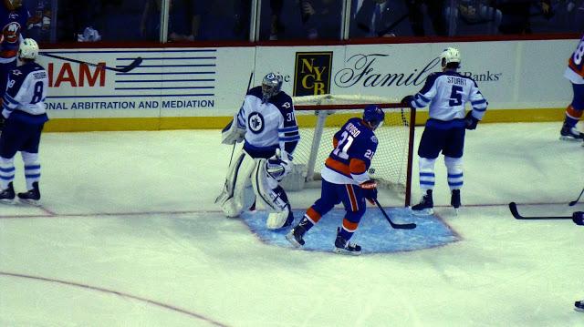 NY Islanders vs. The Winnipeg Jets