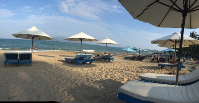 The beach at Nha Trang