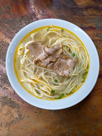 Delicious Beef Noodle Soup