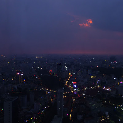 View over Ho Chi Minh City