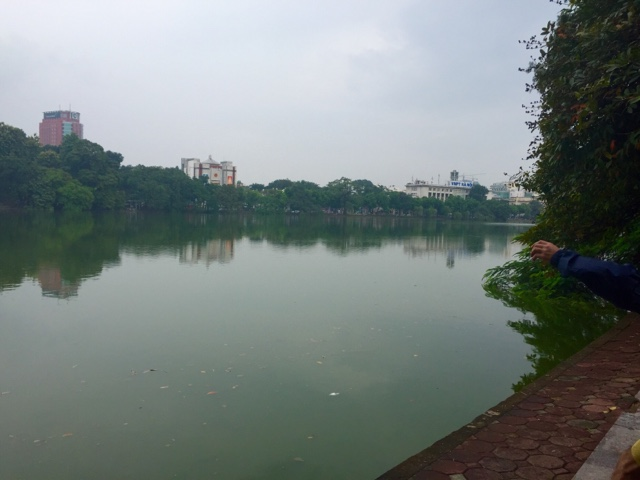 The Lake in Hanoi