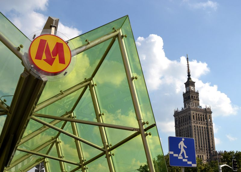 Metro and the Palace of Culture & Science