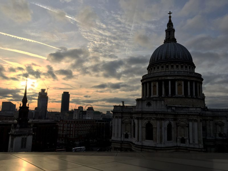 View from Madisons over St. Pauls