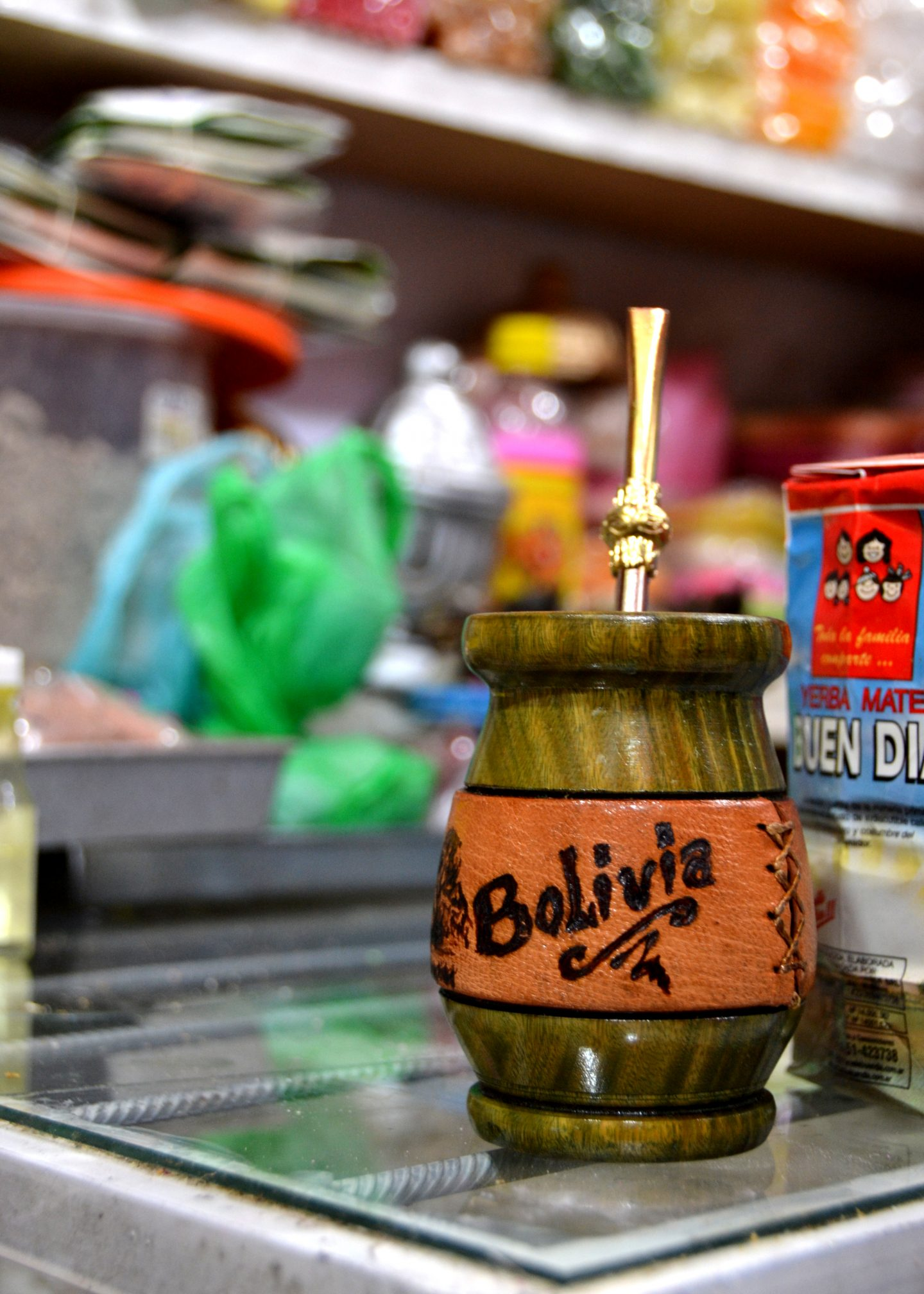 Witches potions in La Paz