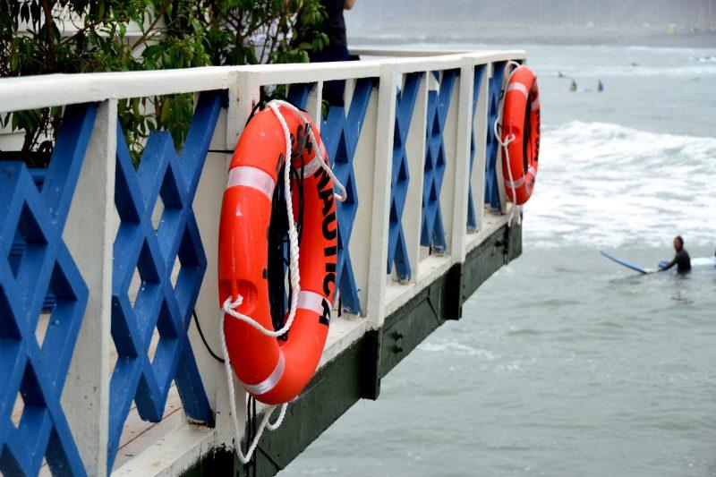 Pier in Lima