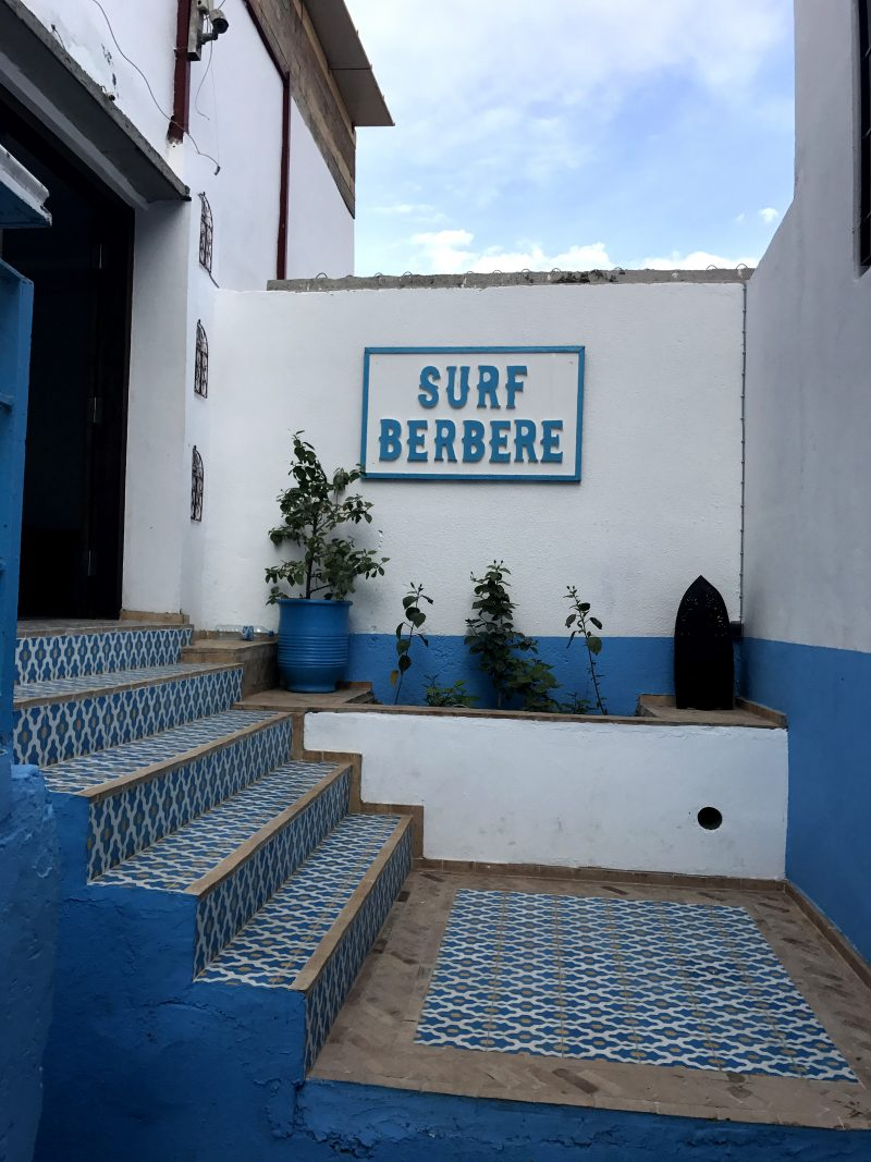 Entrance to Surf Berbere