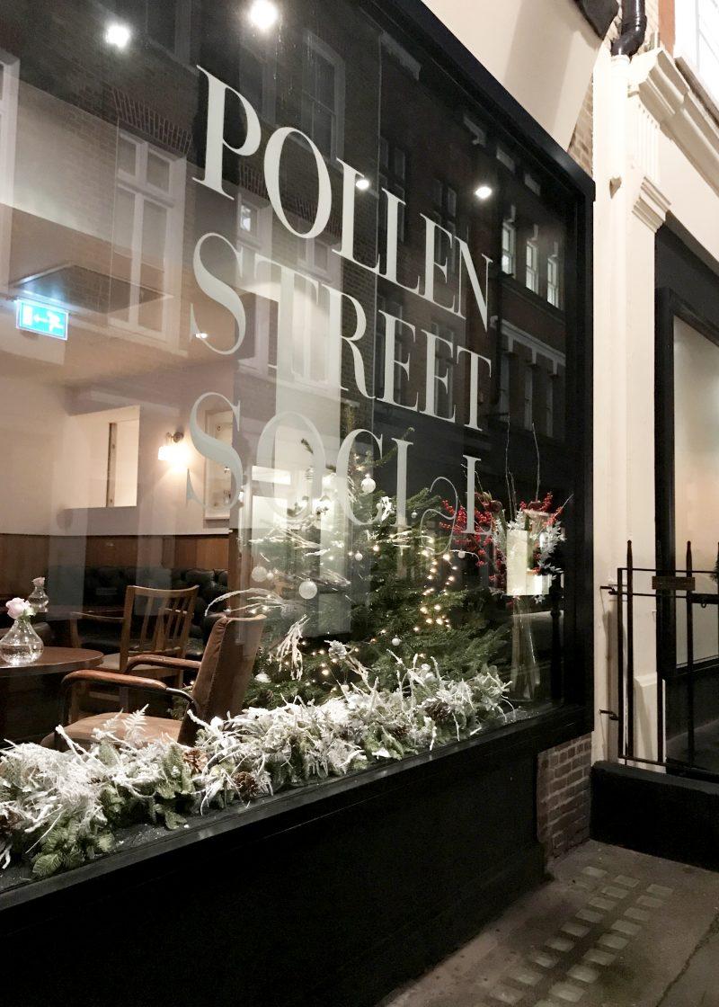 Pollen Street Social Outside the Restaurant