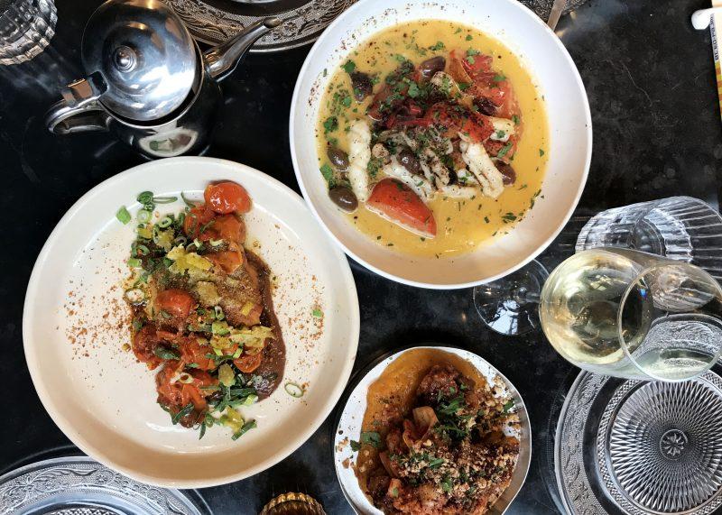 Sharing plates at Bala Bala