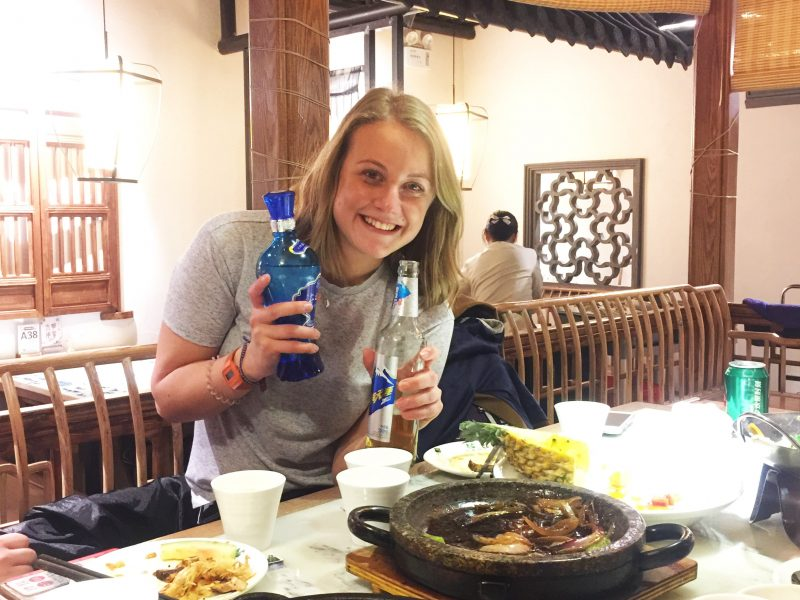Beer and Chinese Wine