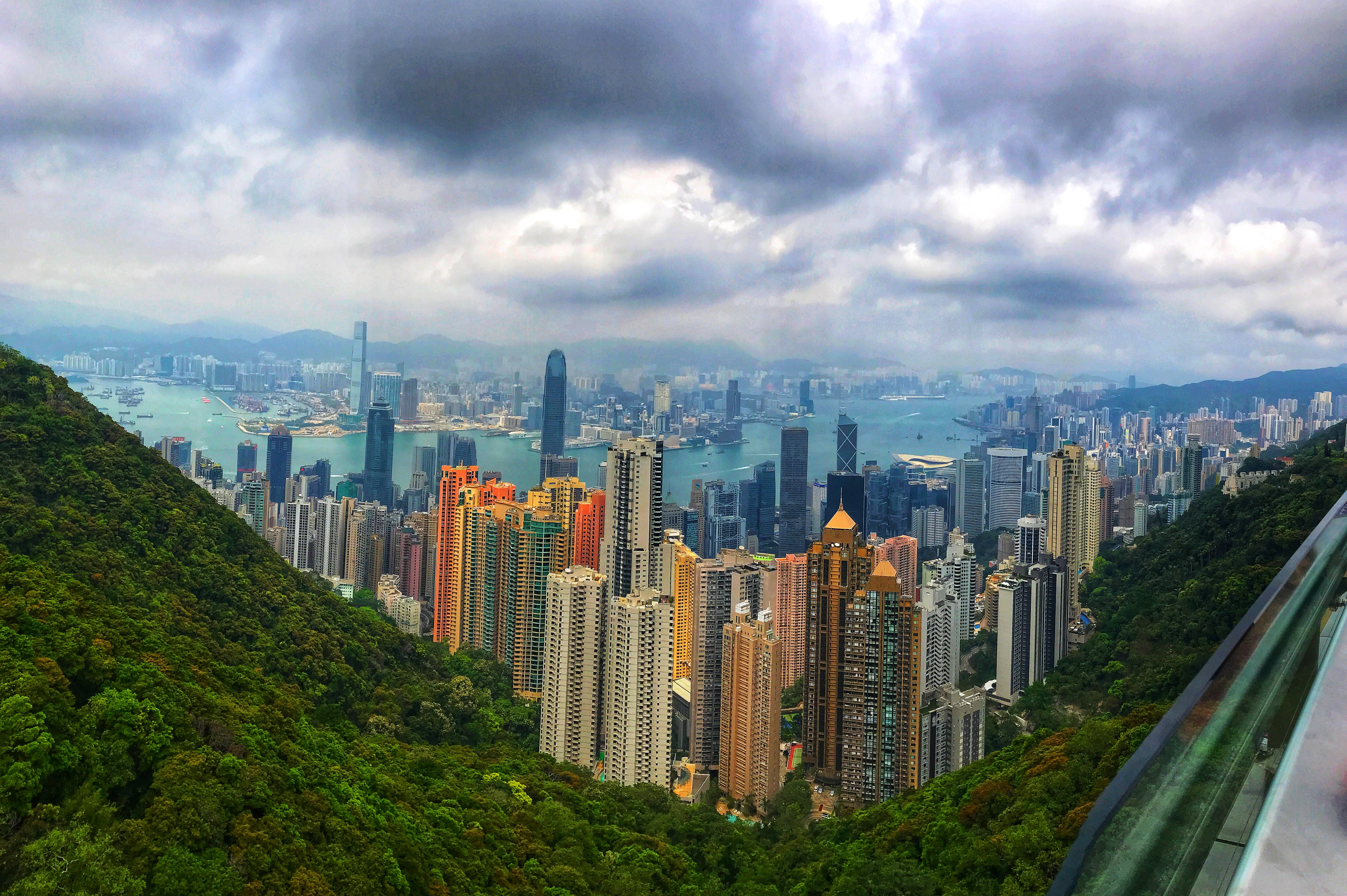 View from the Peak, two days in Hong Kong