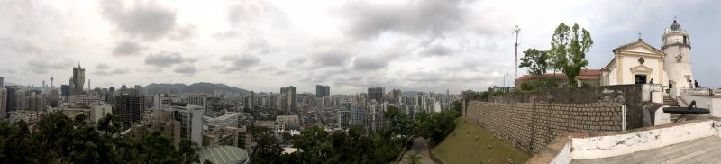 Pano view across Macau
