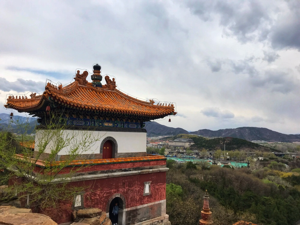 Views over the summer palace