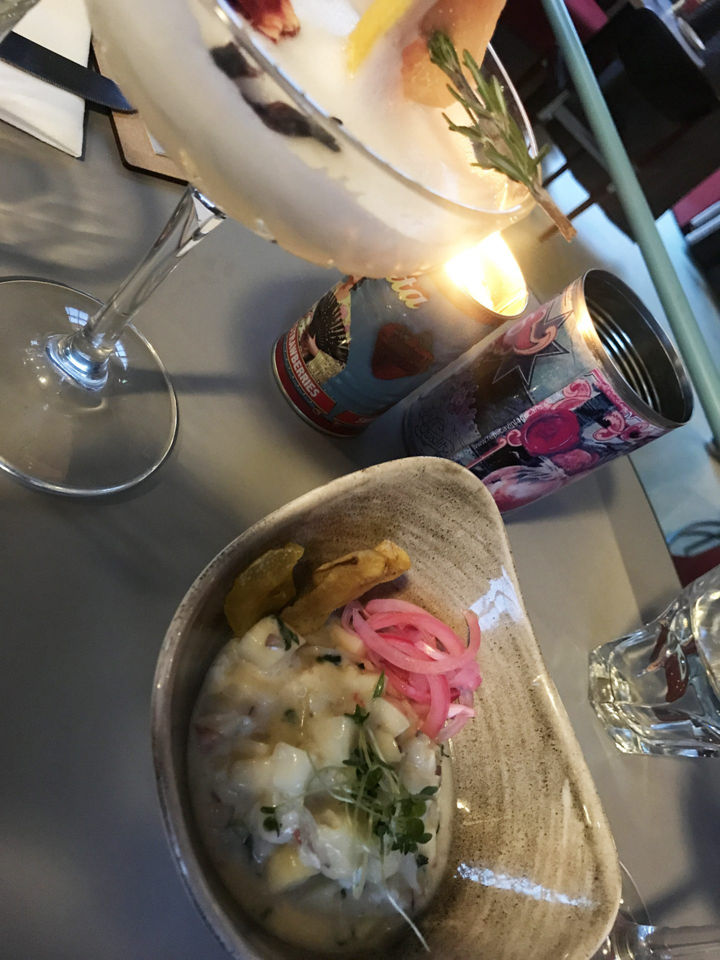 Prawn Ceviche