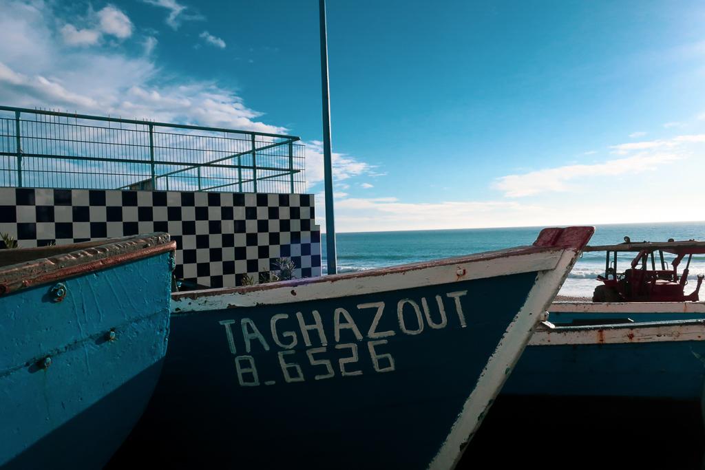 Taghazout Fishing Boats