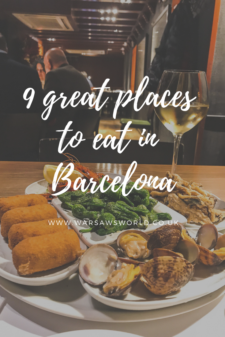 great places to eat in Barcelona, tapas is just one of them