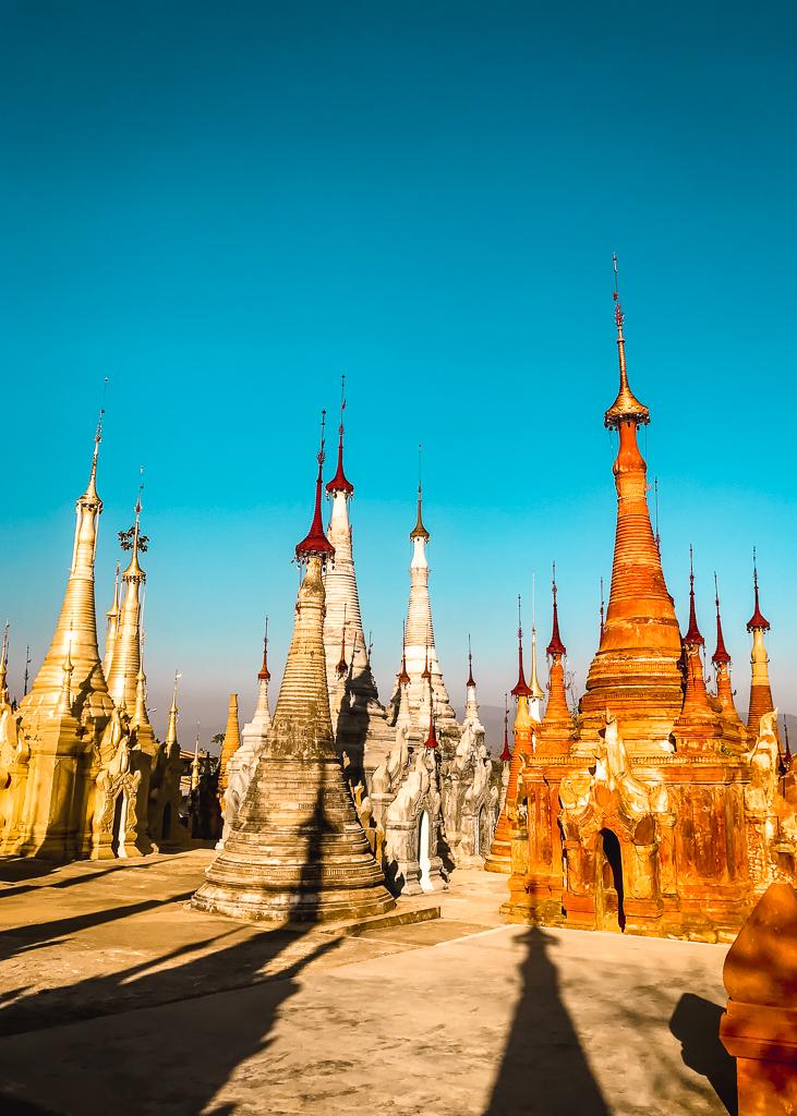 Myanmar Travel Shwe Inn Dein Pagoda