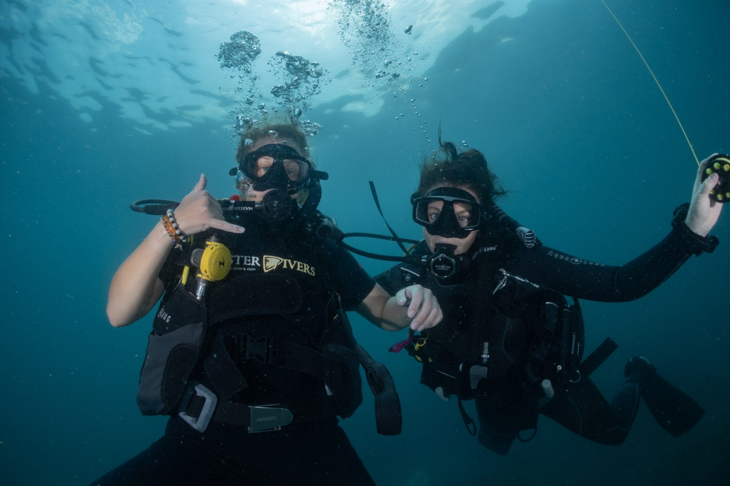 Diving with Katie