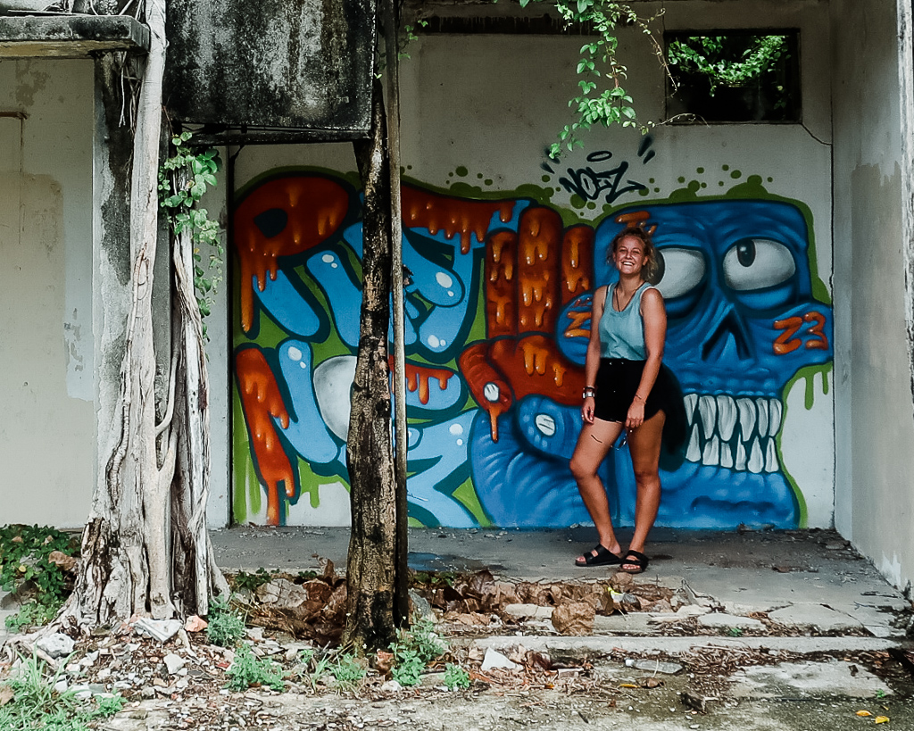 Abandoned Buildings in Melaka and some street art