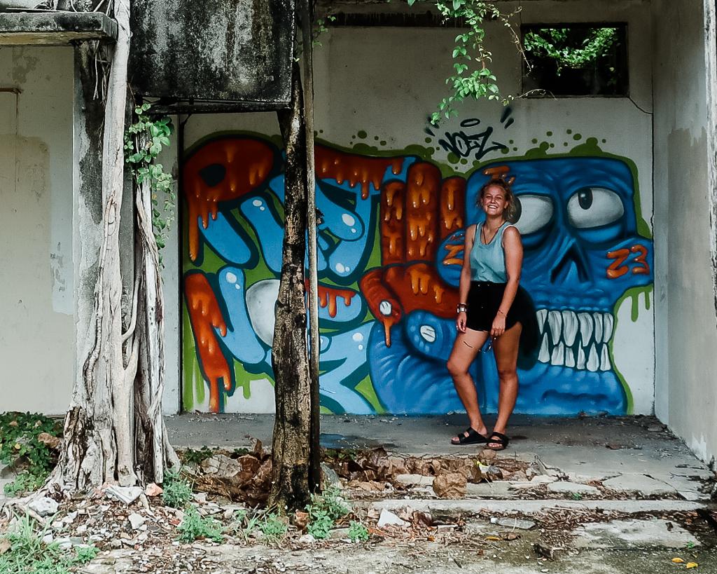 Abandoned Buildings in Melaka and some street art