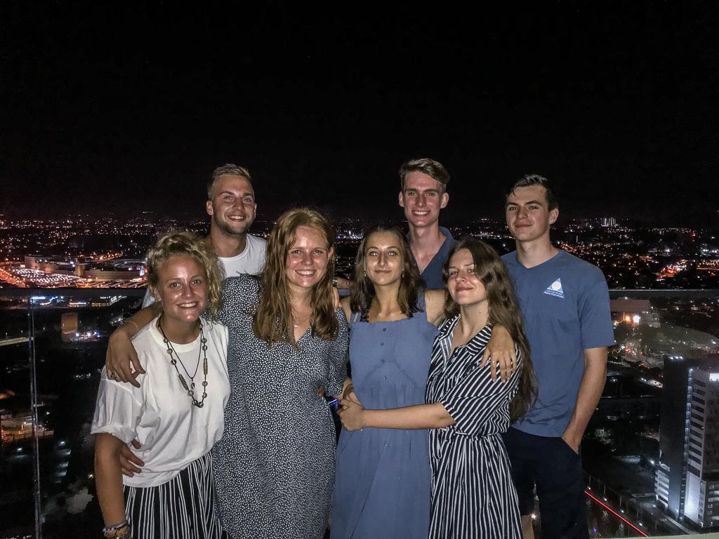 The group in Melaka,