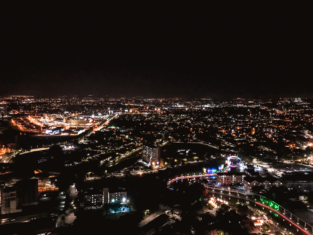 Things to do Melaka: Views over the city at night