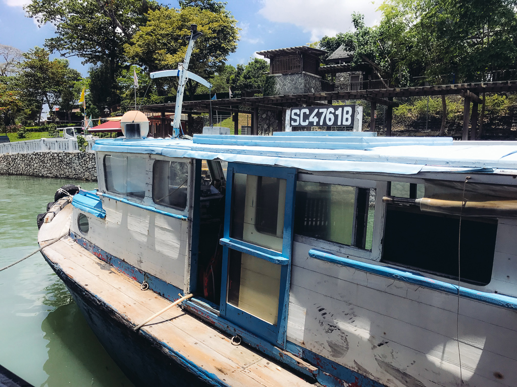 Pulau Ubin: the Boat to the island