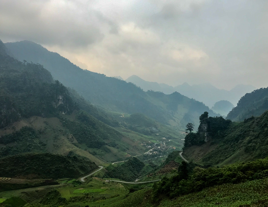 Hà Giang Loop: mountain view