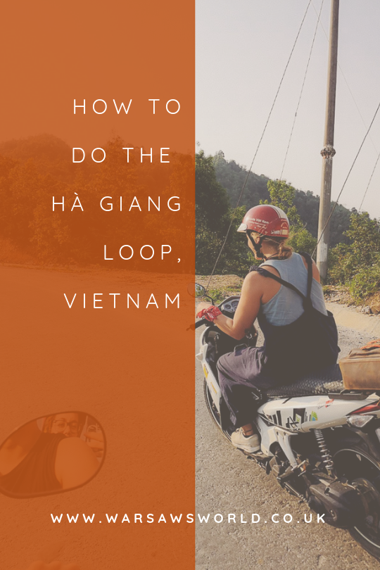 Ha Giang Loop: pinterest graphic