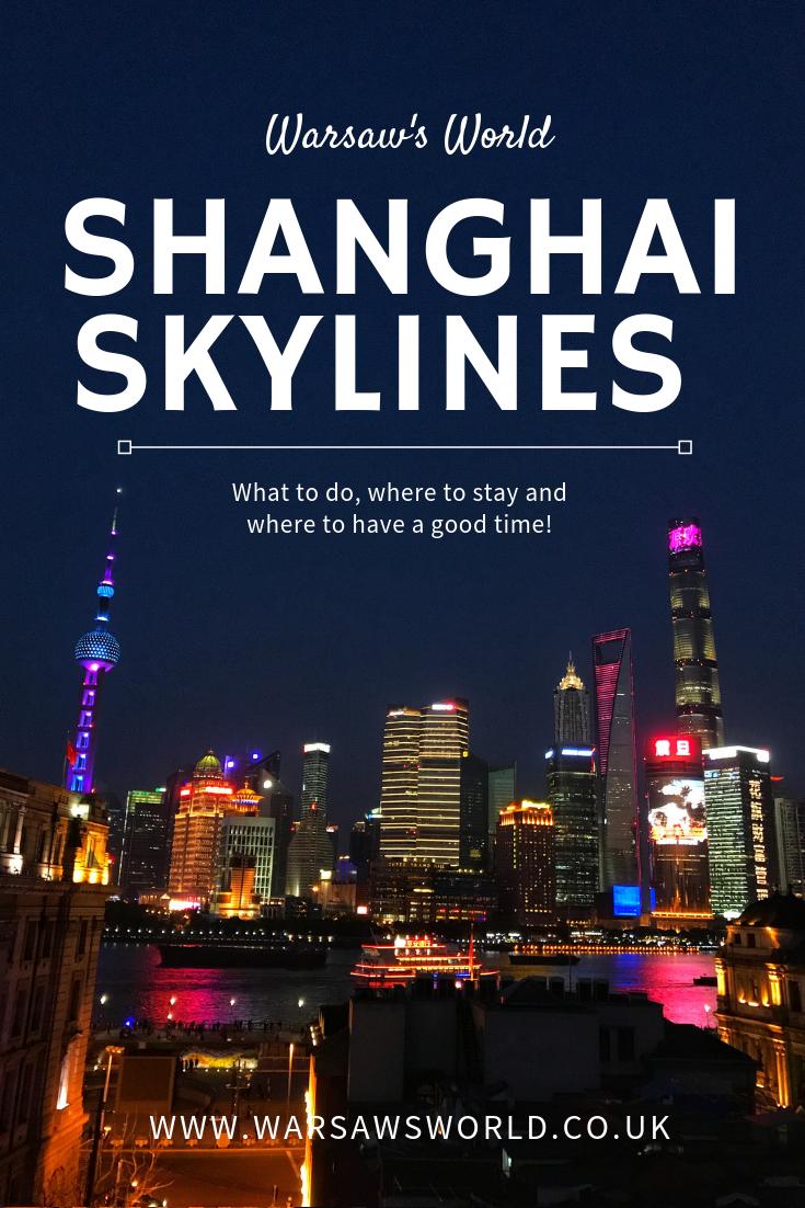 Shanghai pinterest graphic