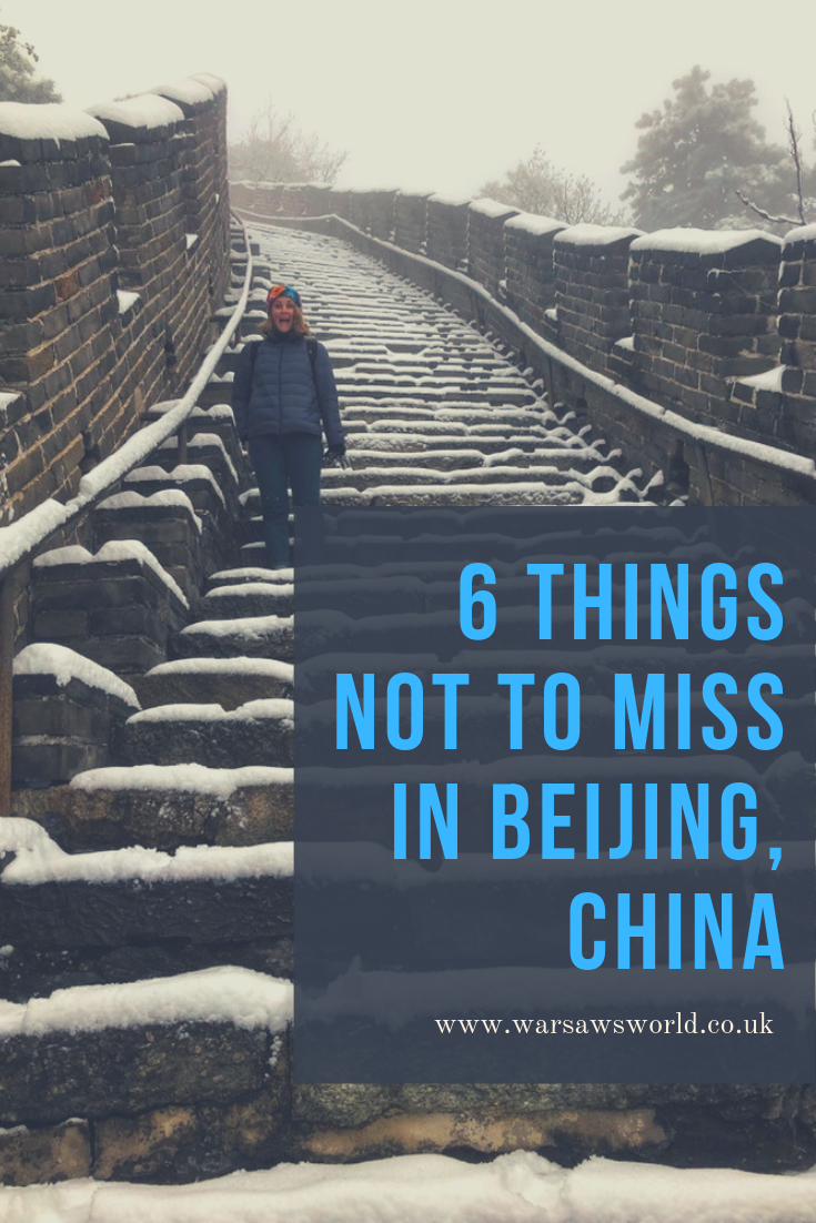 6 things in Beijing not to miss, pinterest graphic