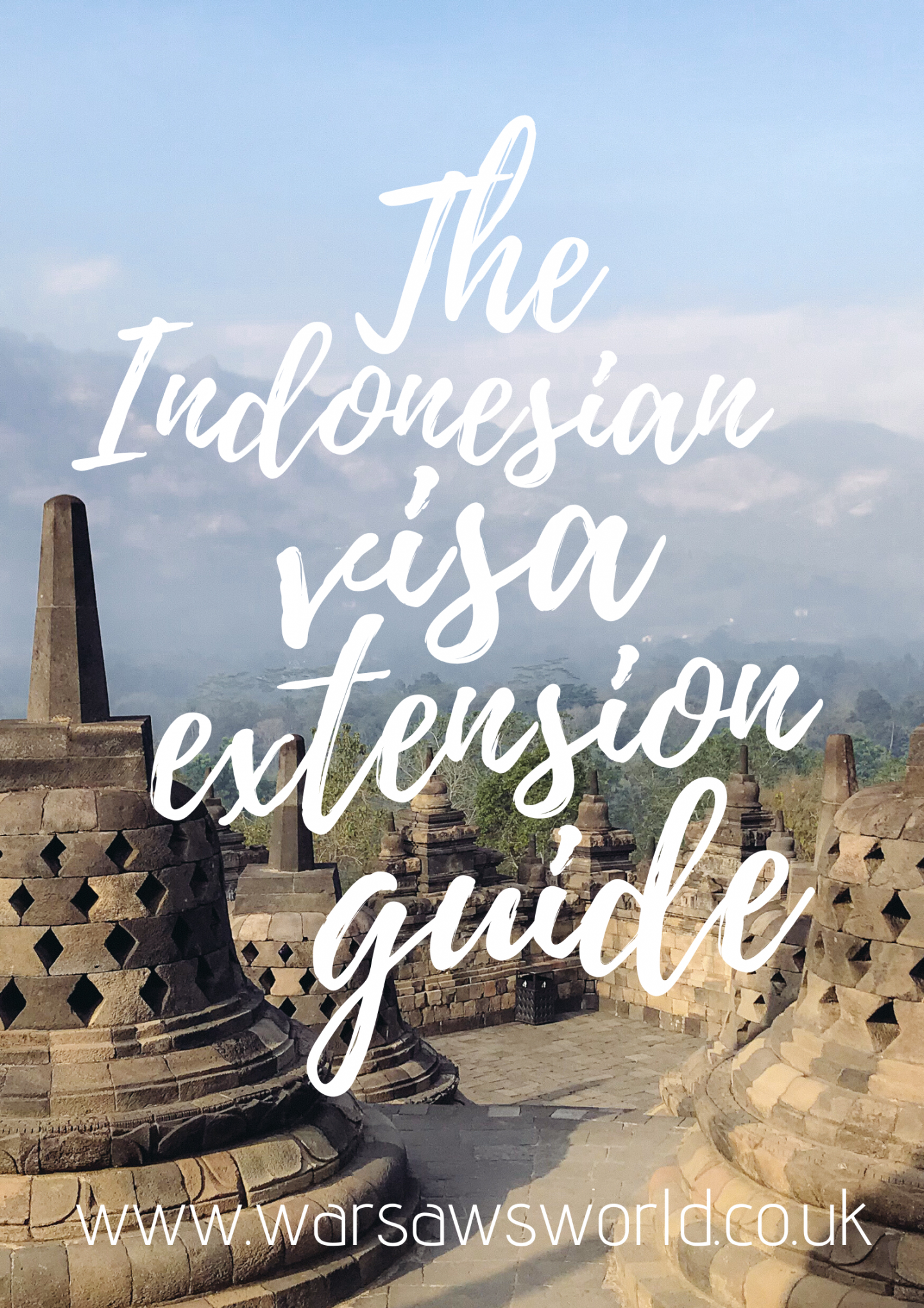 Indonesian Visa Extension Pinterest