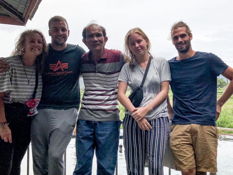 myself, Thijs, Marlon, Paula and Jakob