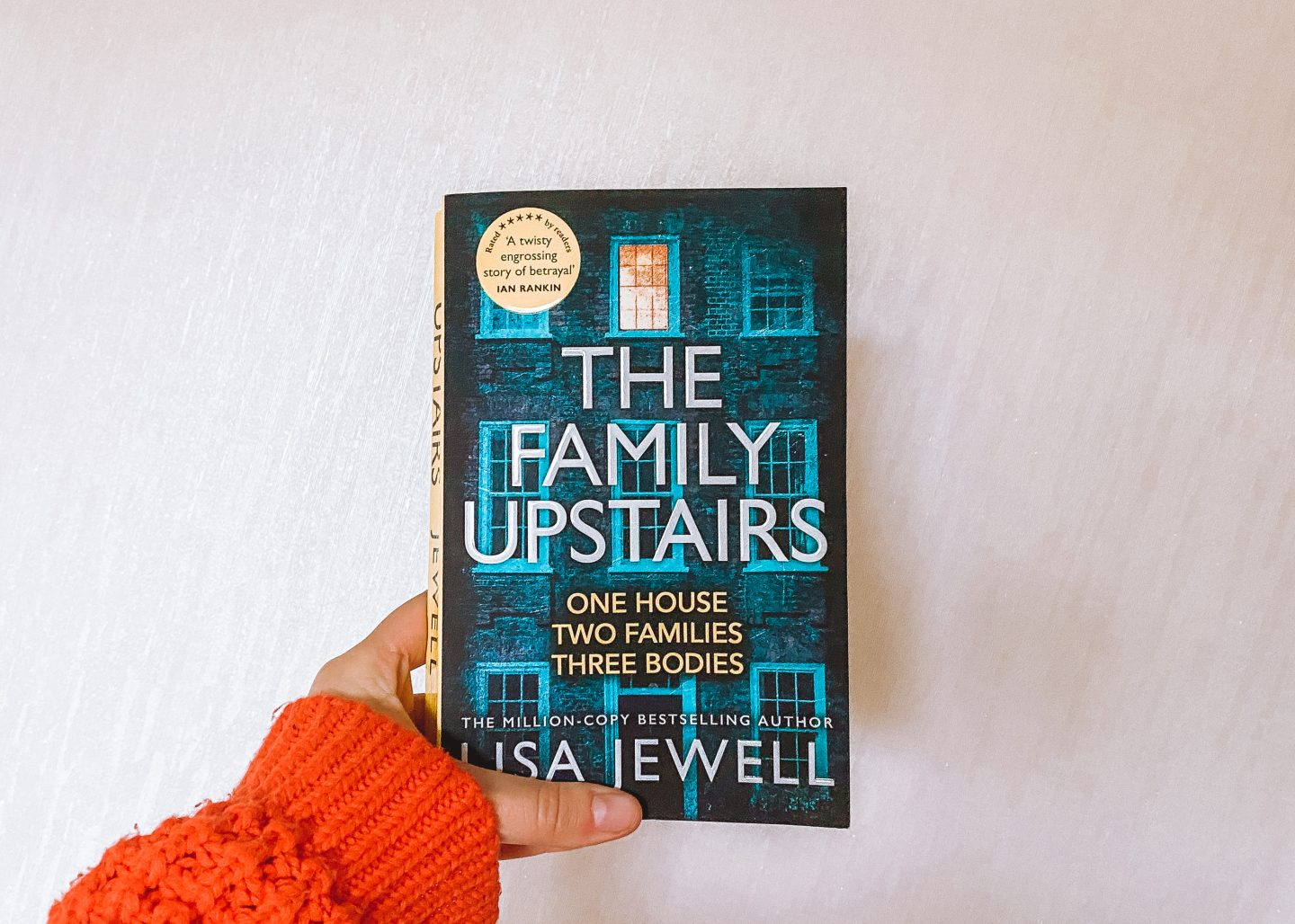 The family upstairs book cover