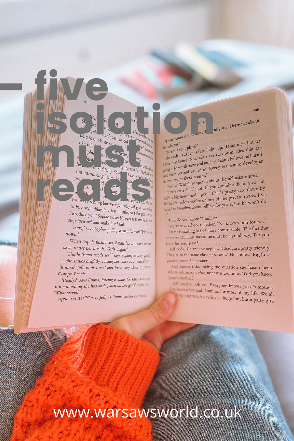 pinterest - 5 isolation must reads