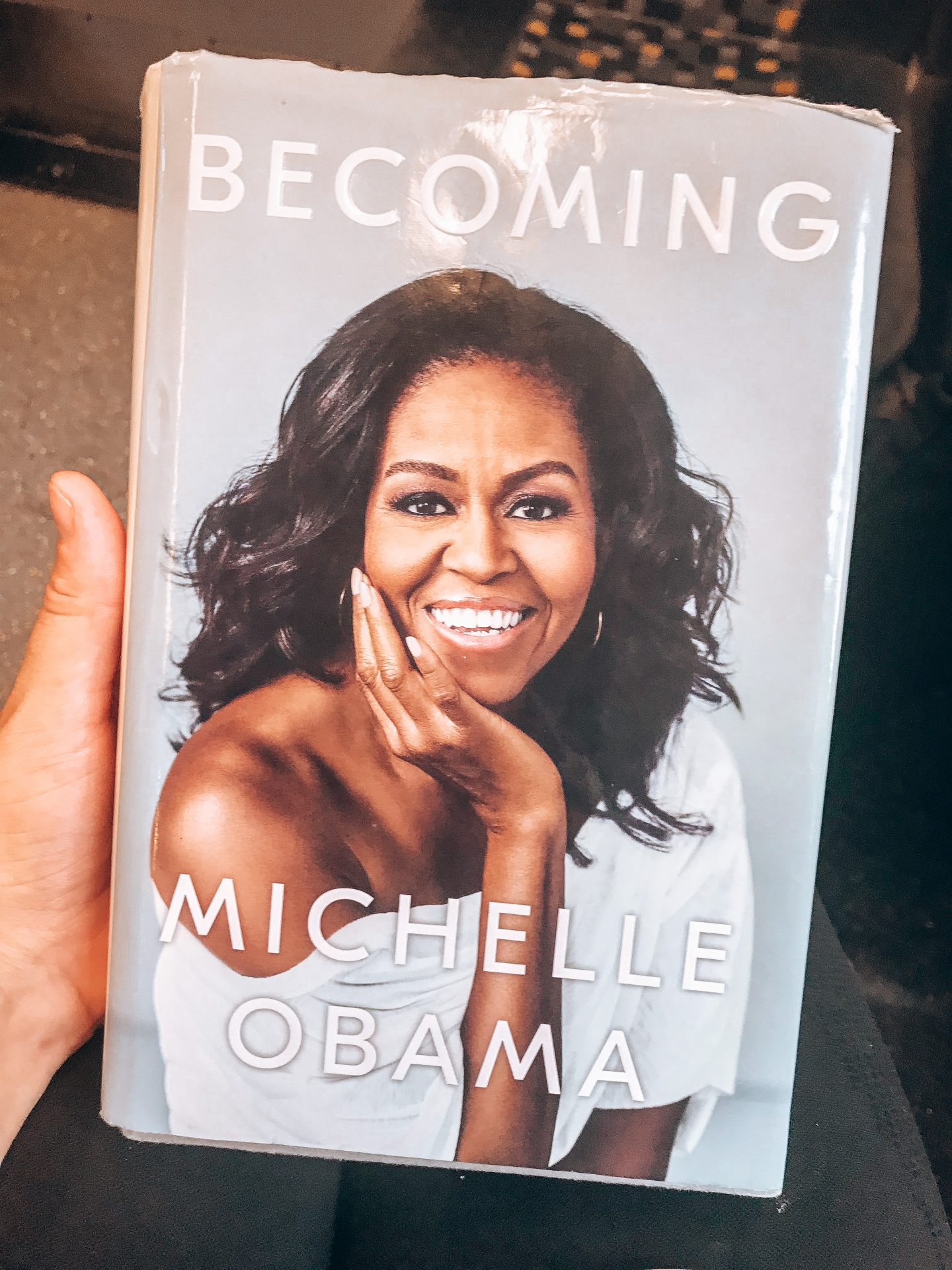 Becoming by Michelle Obama, each captivating part of this memoir / autobiography gives an insight into the morals and values she's developed and maintained.
