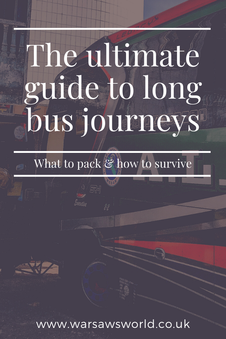 The ultimate guide to long bus rides