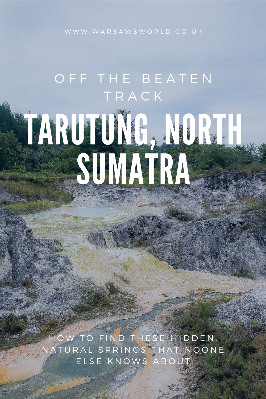 Off the beaten track in Tarutung, North Sumatra